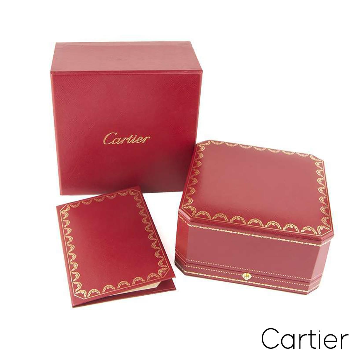 Cartier Rose Gold Diamond Juste Un Clou Bracelet Size 17 N6702117